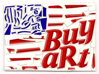 Baby Ruth Bar Flag (Buy Art), 2002